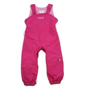 Columbia Tectonite Pink Snow Suit Bibs